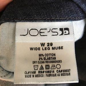 Joe's Jeans Jeans - Joes jeans dark wash wide leg muse